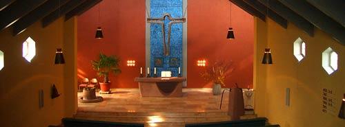 Kirche als Zelt - Kirche Hl. Kreuz, Hameln